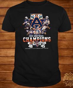 2019 Iron Bowl Champions 2019 Auburn Tigers Alabama Shirt