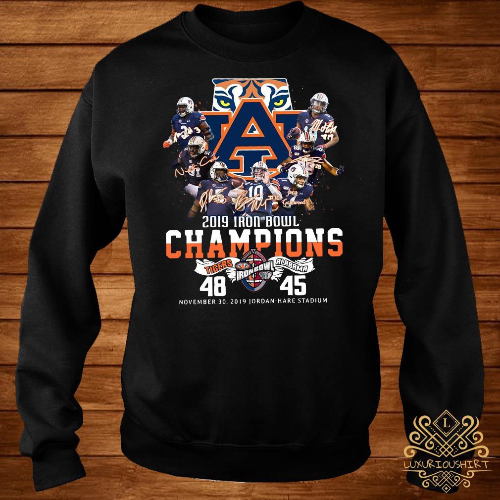 2019 Iron Bowl Champions 2019 Auburn Tigers Alabama Sweater