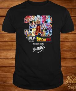 36 Years Of Dragonball 1984-2020 Toriyama Akira Shirt