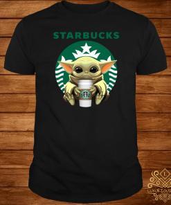 Baby Yoda Hug Starbucks Shirt