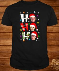 Bottom Ho Ho Ho Christmas Shirt