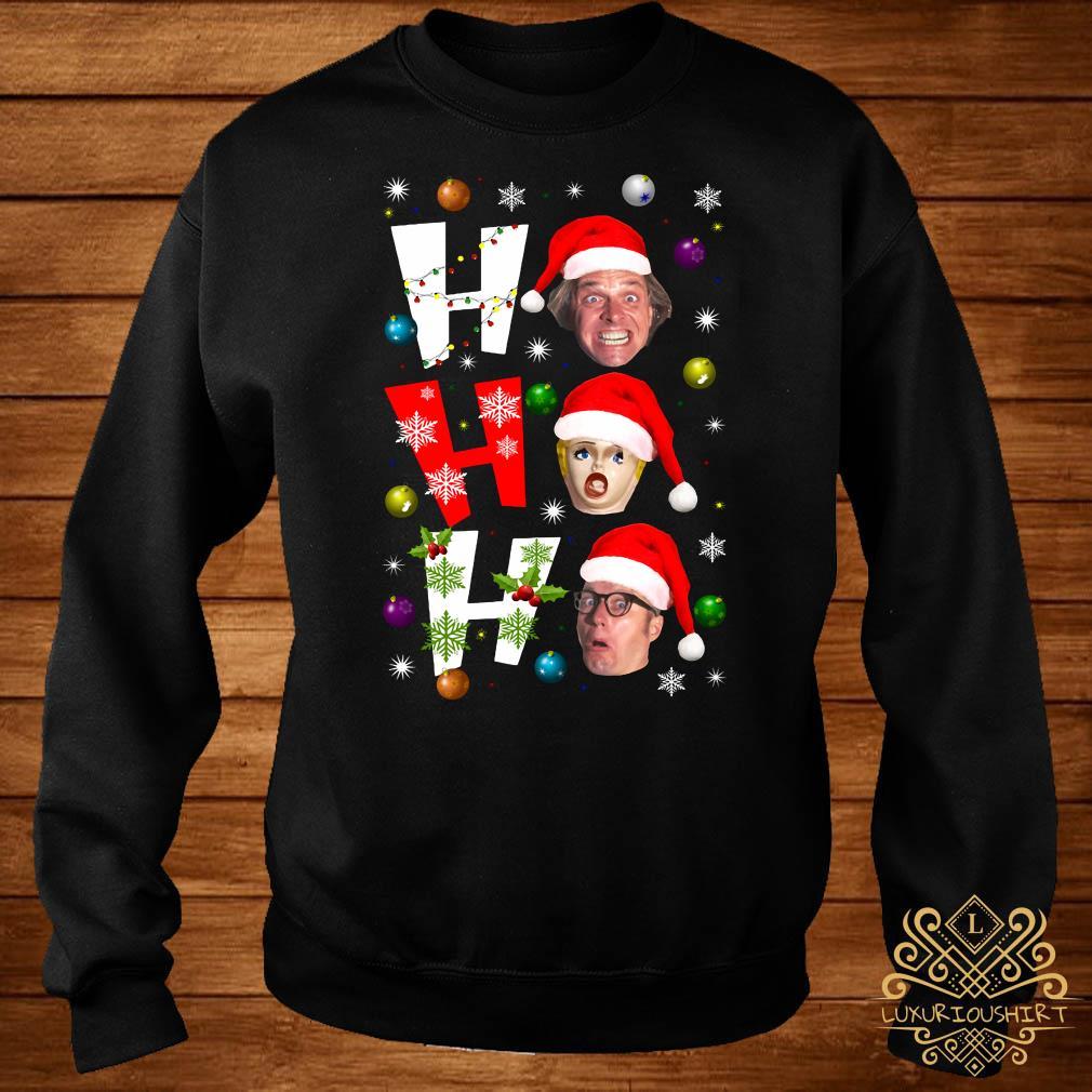 Bottom Ho Ho Ho Christmas Sweater