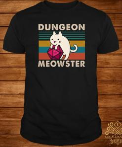 Dungeon Meowster Vintage Shirt
