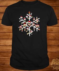 Harry Potter Chibi Character Snow Christmas Shirt
