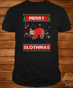 Sloth Merry Slothmas Ugly Christmas Sweater