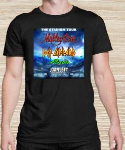 The Stadium Tour Motley Crue Def Leppard Poison Joan Jett Unisex