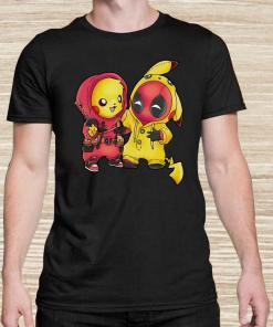 Baby Deadpool And Baby Pikachu Unisex