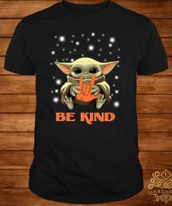 Baby Yoda Hug Be Kind Shirt