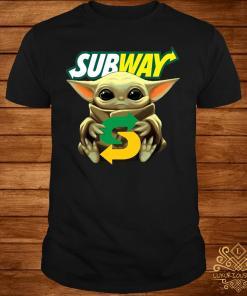 Baby Yoda Hug Subway Shirt