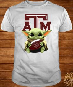 Baby Yoda Hug Texas A&M Aggies Shirt