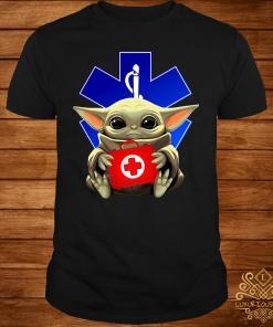 Baby Yoda And Paramedic Shirt
