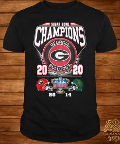 Georgia Bulldogs Sugar Bowl Champion 2020 Shirt