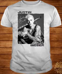 Justin Bieber Signature Autographed Shirt