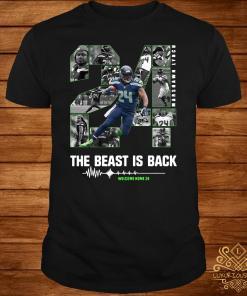 Marshawn Lynch 24 The Beast Is Back Shirt