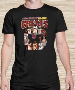 Miami Heat All-time Greats Player Signatures Unisex