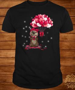 Sloth Valentines Day Love Heart Shirt