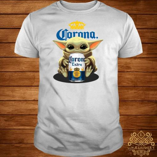 Baby Yoda Hug Corona Extra Shirt