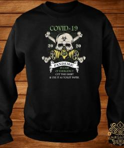 Covid-19 Pandemic In Case Of Emergency Cut This Sweater