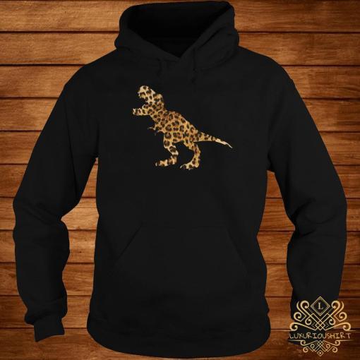 Dinosaur T-rex Leopard Hoodie