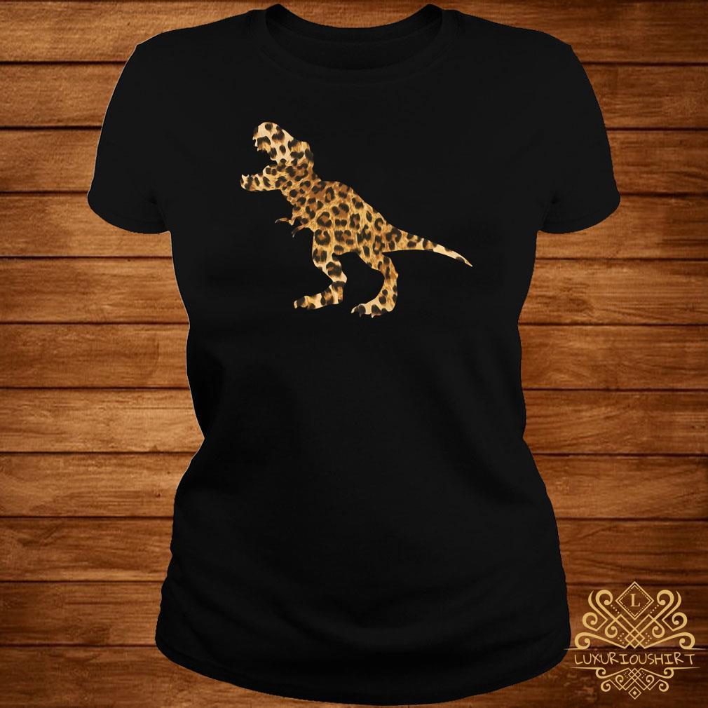 Dinosaur T-rex Leopard ladies Tee