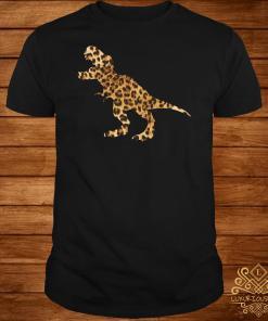 Dinosaur T-rex Leopard Shirt