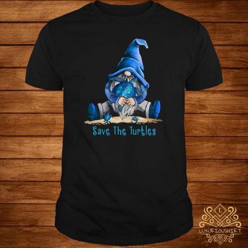 Gnome Save The Turtles Shirt