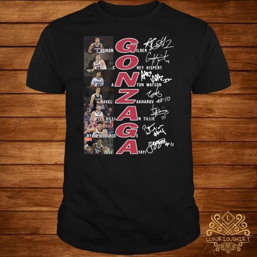 Gonzaga Basketball All Team Signature Shirt