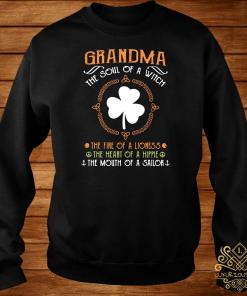 Irish Grandma The Soul Of A Witch The Fire Of A Lioness The Heart Of A Hippie Sweater