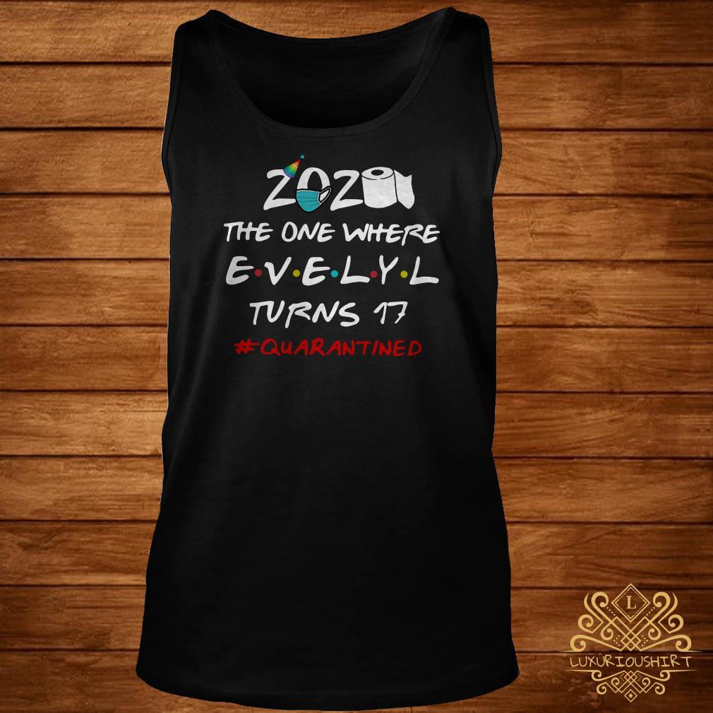 2020 The One Where Kristin Turns 30 #quarantined Tank-top