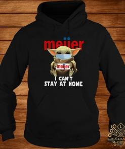 Baby Yoda Face Mask Hug Meiier I Can't Stay At Home Hoodie