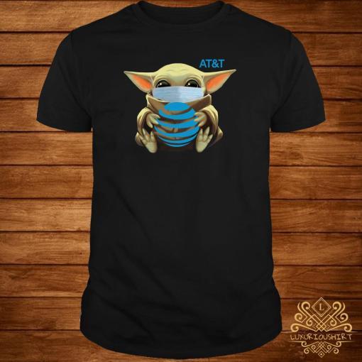 Baby Yoda Mask Hug AT&T Shirt