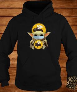 Baby Yoda Mask Hug Buffalo Wild Wings Hoodie