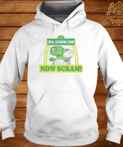 123 Social Distancing Champ Now Cram Shirt hoodie