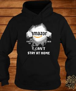 Amazon Inside Me Covid-19 2020 I Can't Stay At Home Shirt hoodie