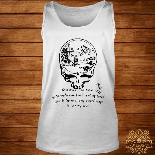 Grateful Dead Goin Home By The Waterside Shirt tank-top