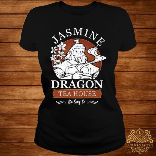 Jasmine Dragon Tea House Shirt ladies-tee
