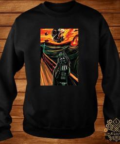 Munch The Scream Darth Vader Star War Shirt sweater