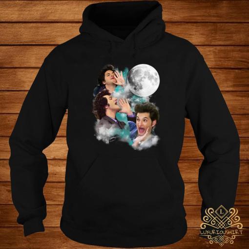 Three Jean Ralphio Moon Shirt hoodie