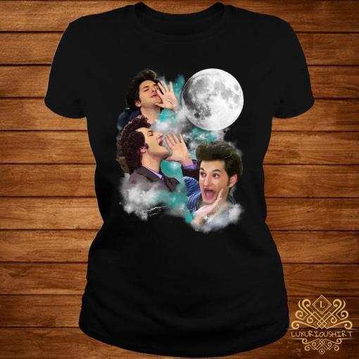 Three Jean Ralphio Moon Shirt ladies-tee