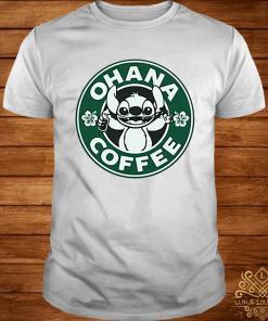 Stitch Ohana Coffee Shirt