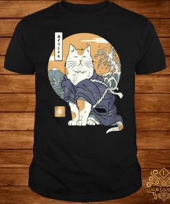 Cat Samurai Shirt