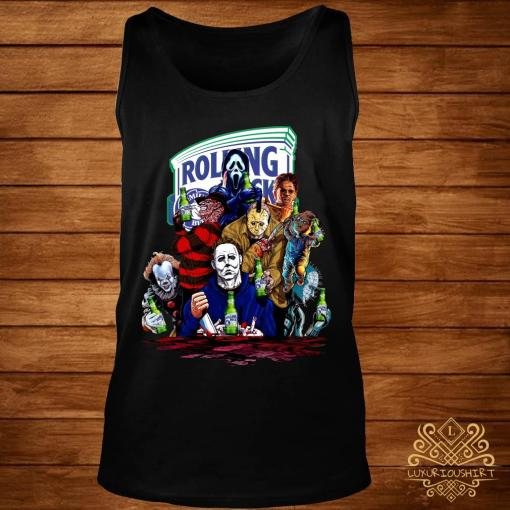 Horror Character Rolling Rock Shirt tank-top