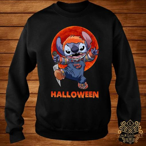Stitch Halloween Shirt sweater