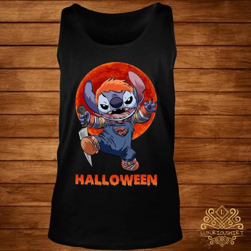 Stitch Halloween Shirt tank-top