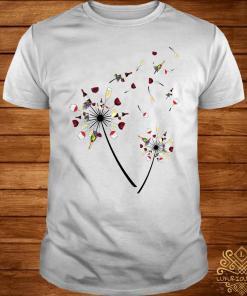 Wine Dandelion Flower Shirt