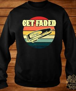 Get Faded Barber Hair Clipper Vintage Shirt sweater