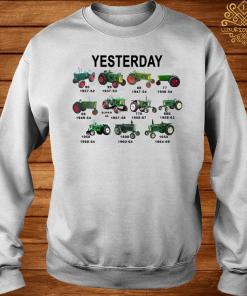 Yesterday Tractors Shirt sweater