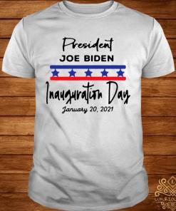 January 20, 2021 Is Inauguration Day President Joe Biden Shirt