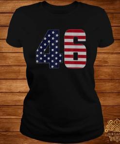 Joe Biden 46 Biden Kamala Harris 2020 Support Shirt ladies-tee
