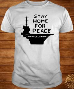 Stay Home For Peace Joan Baez Shirt
